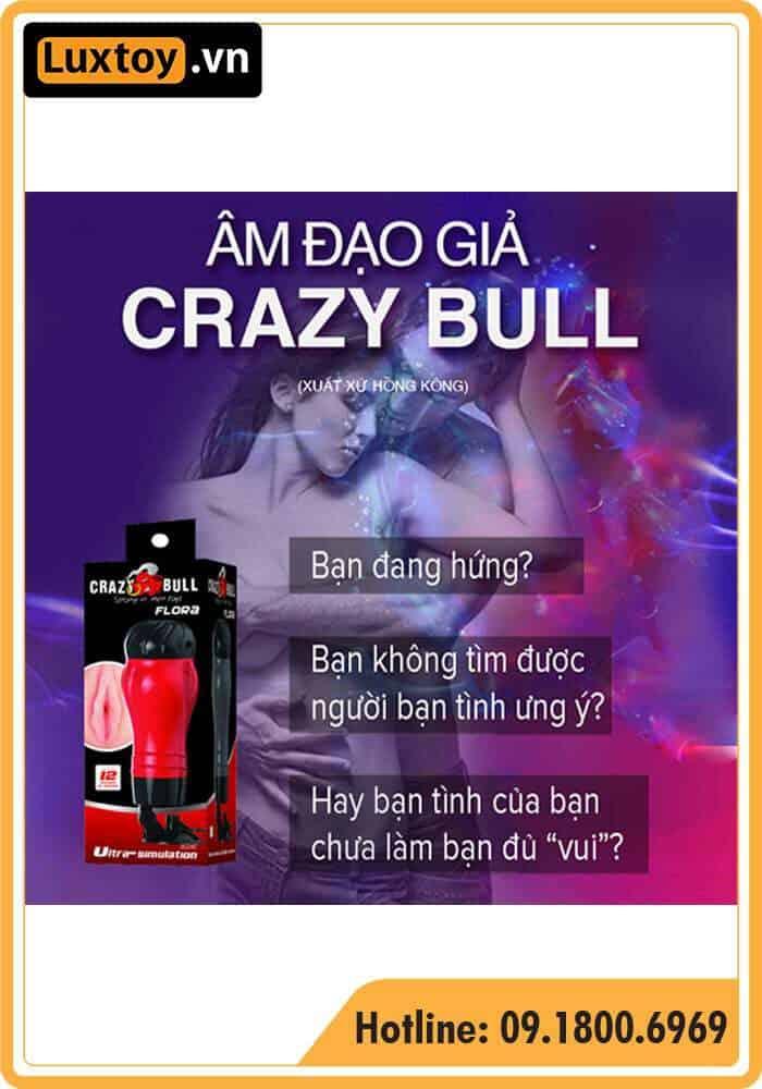 Lí do mỗi quý ông phải có một chiếc âm đạo giả gắn tường Crazy Bull Delia