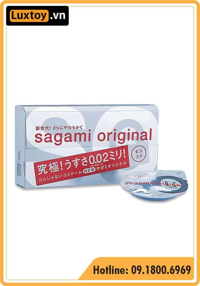 Bao cao su Sagami 0.02 Original