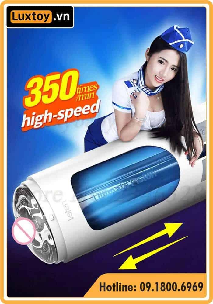Sử dụng âm đạo giả Leten A380 với tốc độ 350 vòng/phút