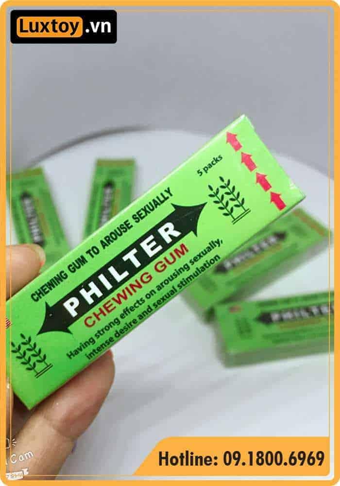 kẹo cao su philter