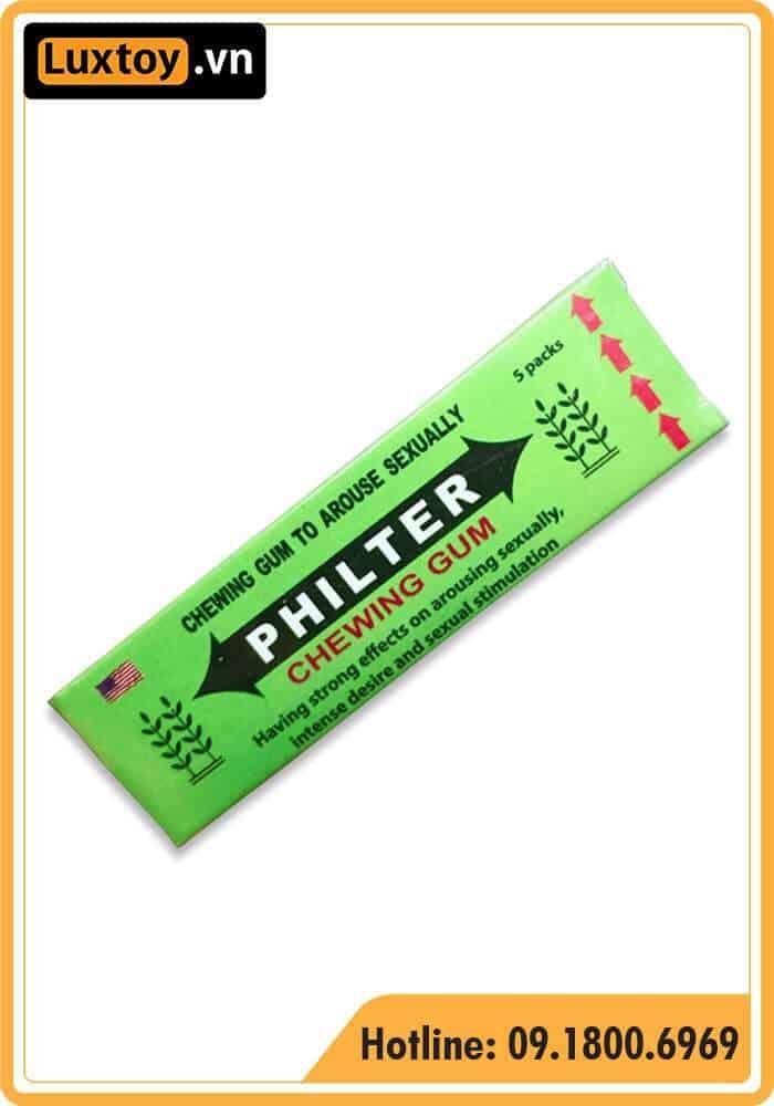 kẹo philter có tốt không ?