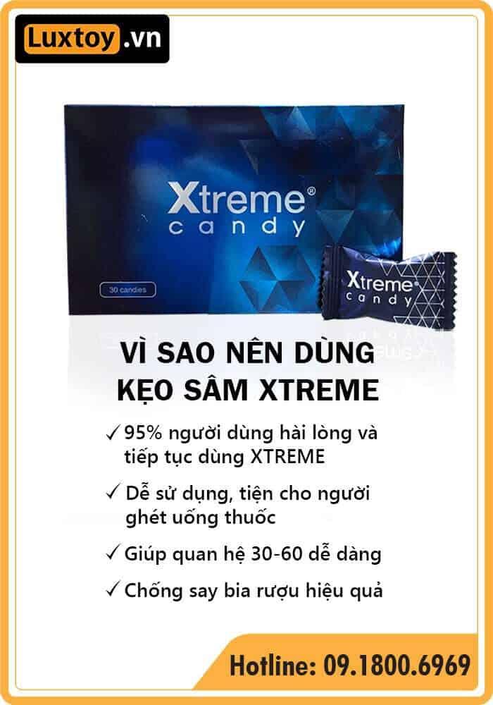 Kẹo sâm Xtreme có tốt không