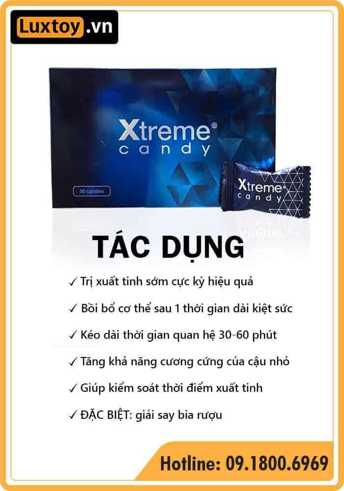 Kẹo Xtreme có tác dụng gì