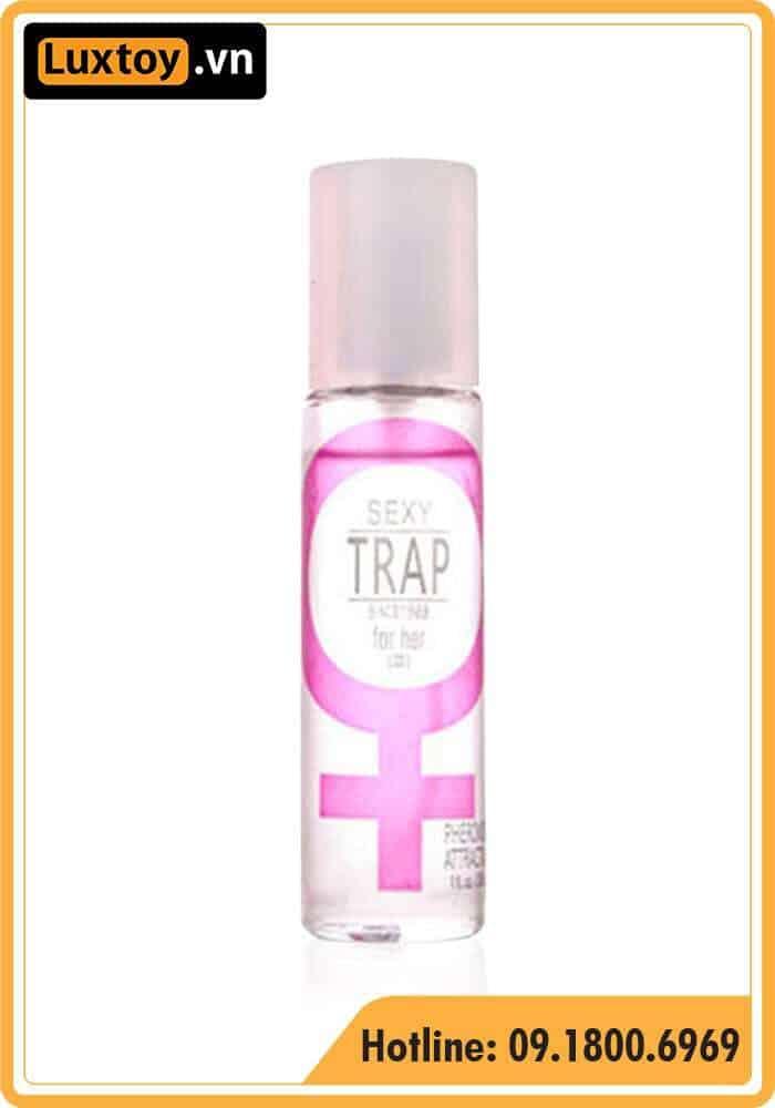 review đánh giá nước hoa kích dục nữ Sexy Trap