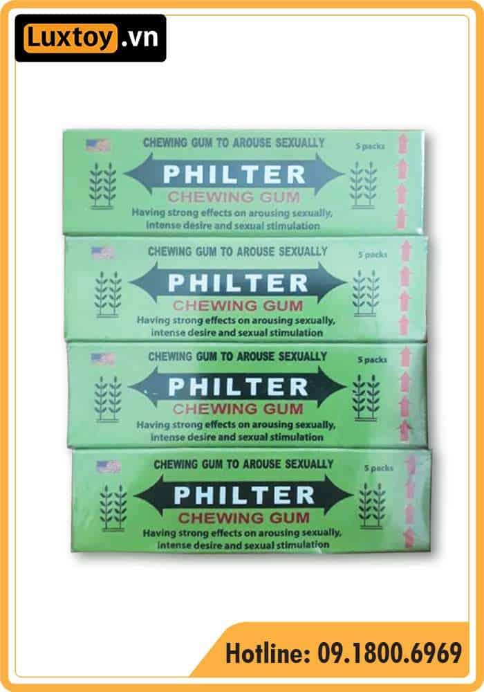 giá bán kẹo Philter