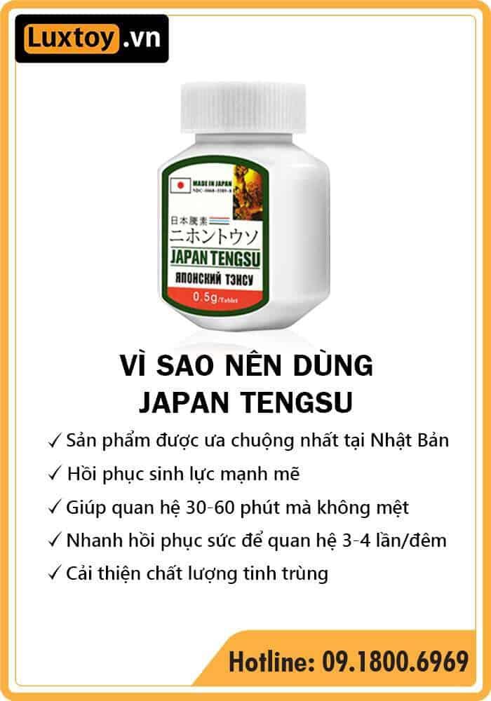 Thuốc cường dương Japan Tengsu có tốt không