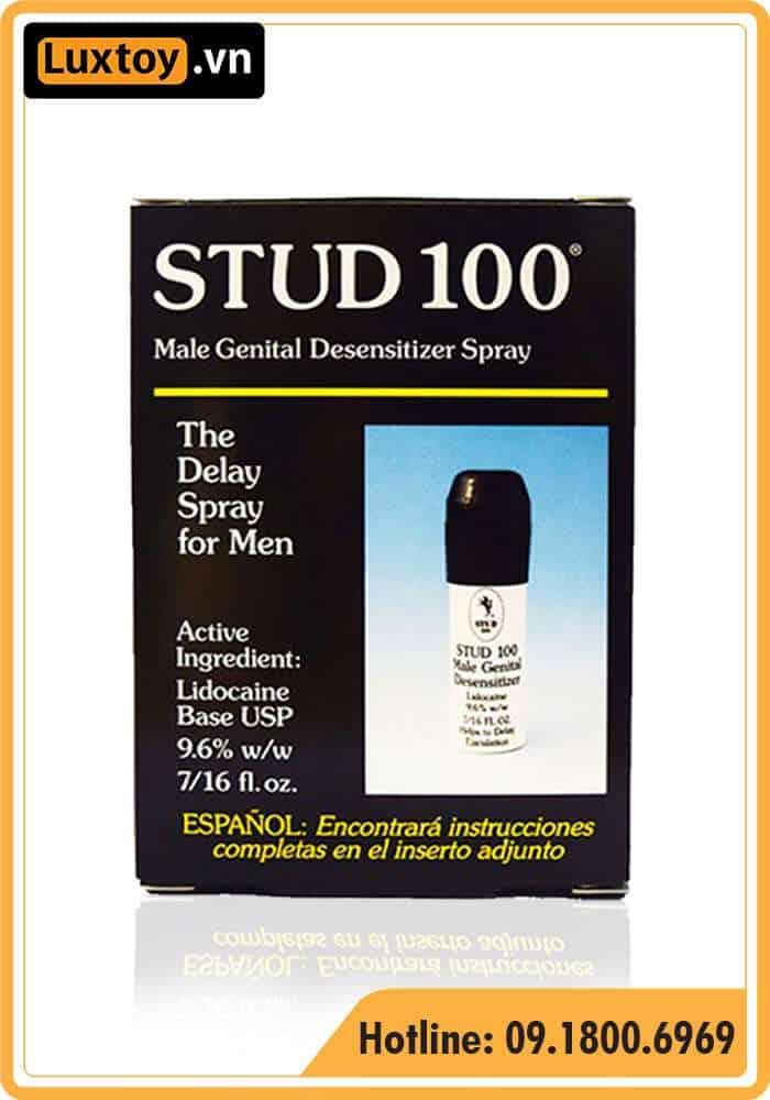 thuốc xịt cường dương stud 100