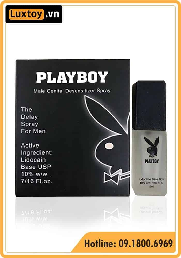 thuốc xịt dương vật Playboy