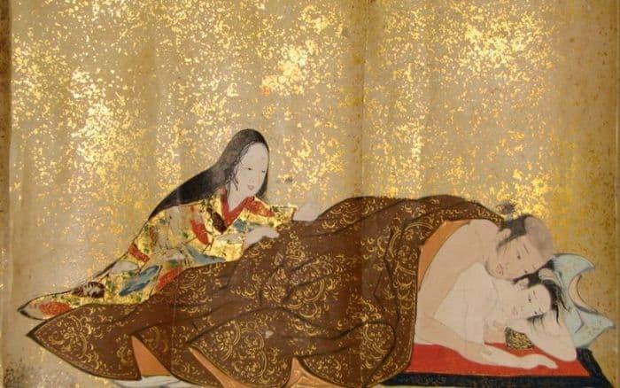 Xuân cung họa là những bức tranh của Nhật Bản