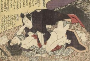 Xuân Cung Họa là những bức tranh mô tả chân thực nhất cảnh ân ái của nam và nữ