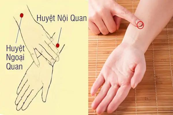 Cách chữa xuất tinh sớm bằng bấm cổ tay