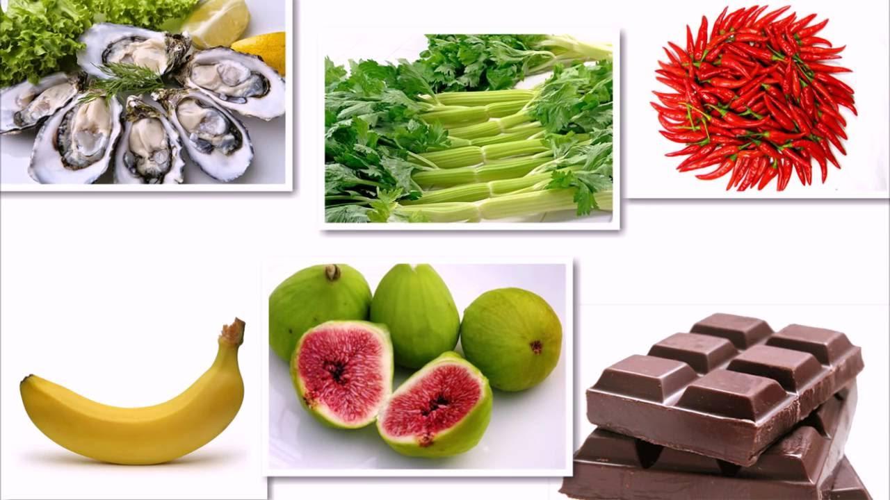 món ăn thực phẩm tăng cường sinh lý